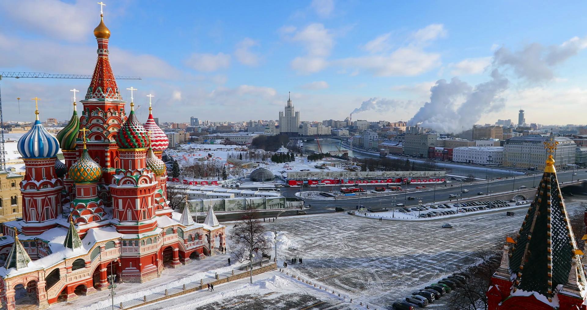 Χριστούγεννα - Πρωτοχρονιά /  Μόσχα - Αγία Πετρούπολη